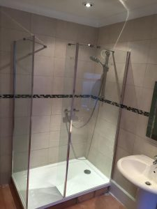 Bathroom fitted in Plymouth home.